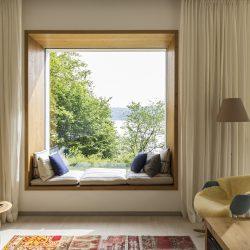 Ein Haus mit Seeblick
