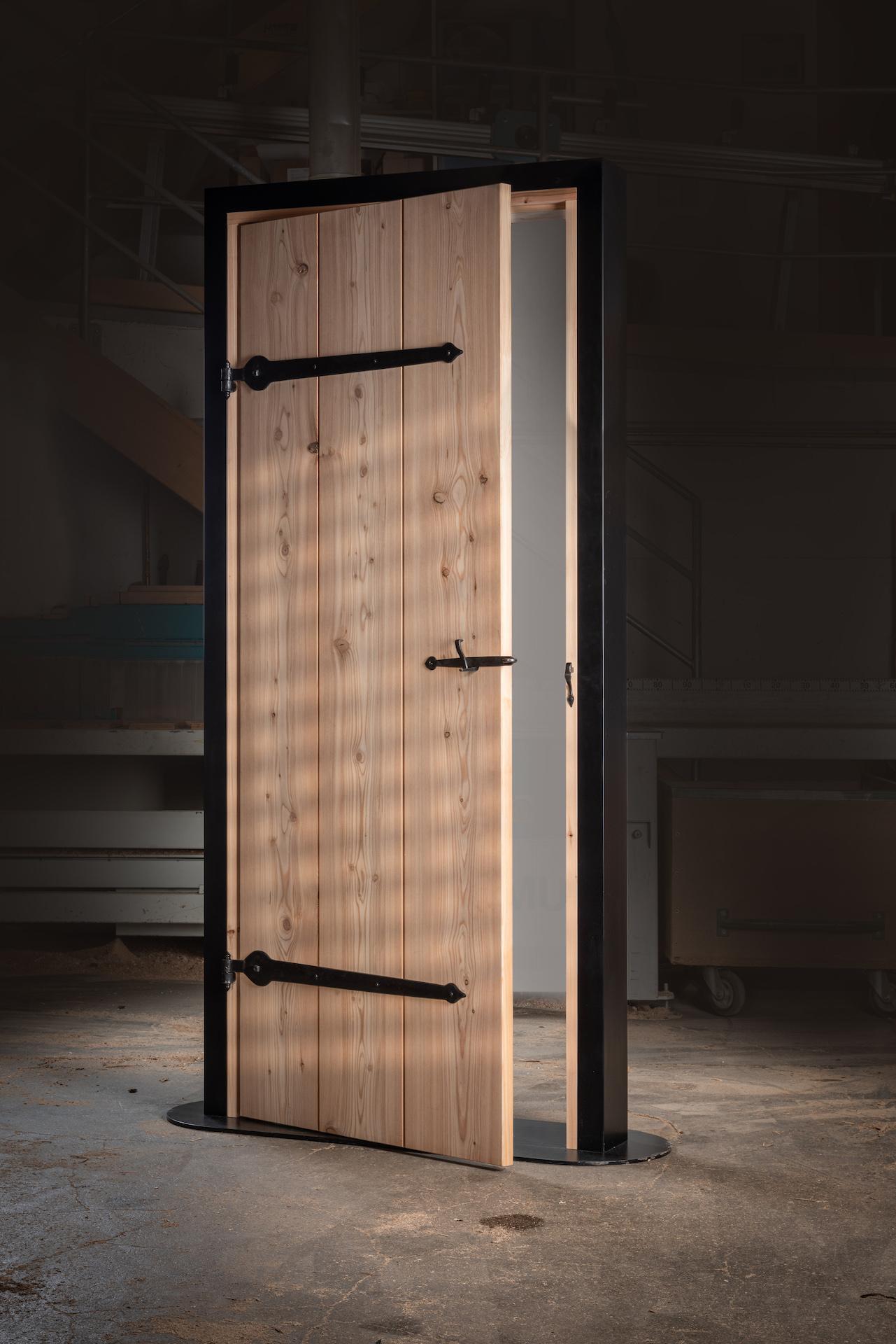 Eine Tür wie vor 200 Jahren