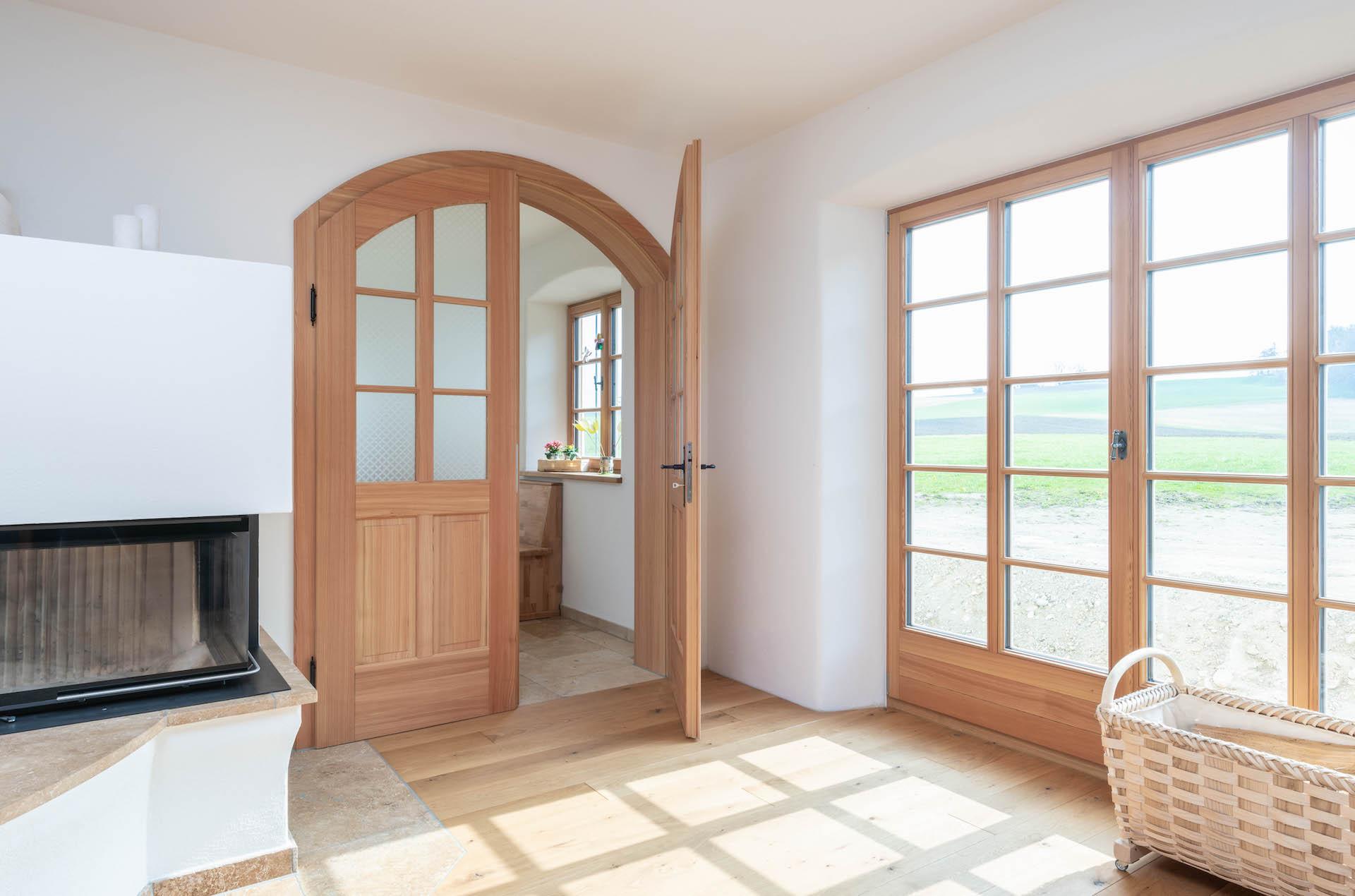 Ein Haus mit Türen wie Maßschuhe